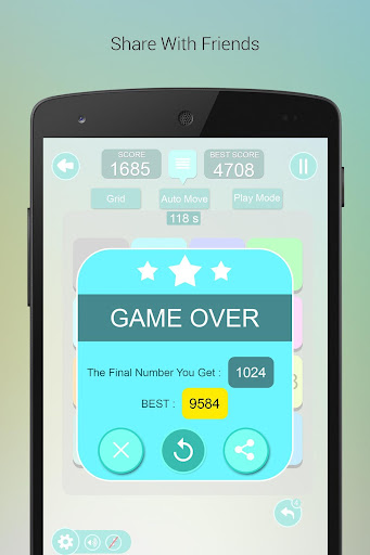 無料解谜Appの究極の2048ゲーム|記事Game