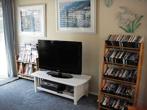 Photo: Family room with DVD's and VHS