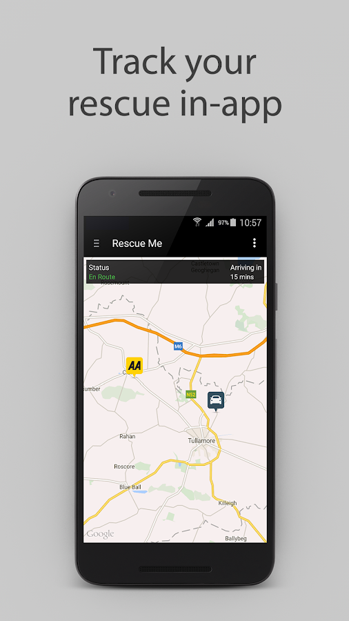 The AA (Ireland)- screenshot