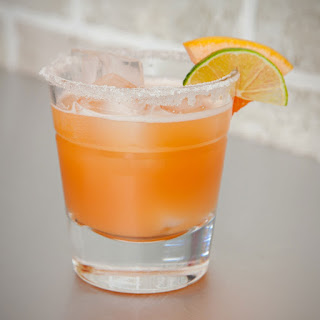 Kickin' Jalapeño Infused Grapefruit Margaritas