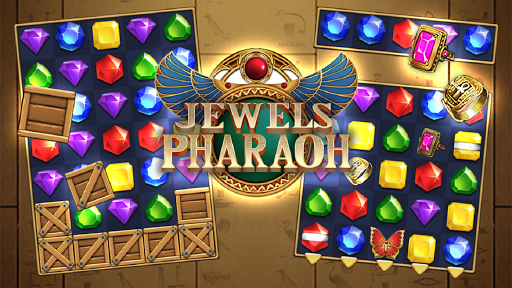 Jewels Pharaoh : Match 3 Puzzle filehippodl screenshot 3