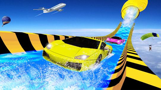 Water Slide Car Racing adventure 2019 4