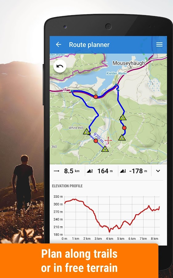 Locus Map Free - Hiking GPS navigation and maps- screenshot