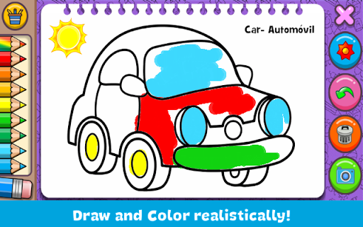 Coloring & Learn - screenshot