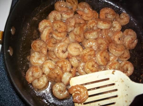 Hubby's Sauteed Shrimp