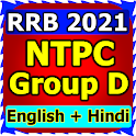 RRB Group D & NTPC in Hindi and English icon