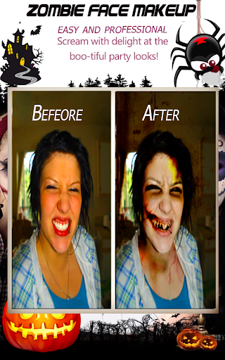 玩免費遊戲APP|下載Halloween Makeup Face app不用錢|硬是要APP