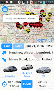 AtomCabs Passenger screenshot