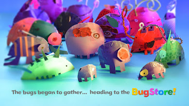 Photo: The bugs began to gather... heading to the #BugStore !