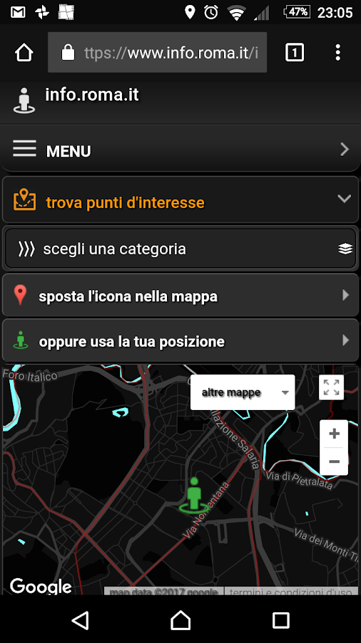 info.Roma.it- screenshot