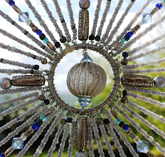 Photo: BLUE MOON - Detail Glass beads