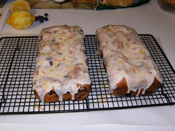 Lemon Blueberry Pound Cake Recipe