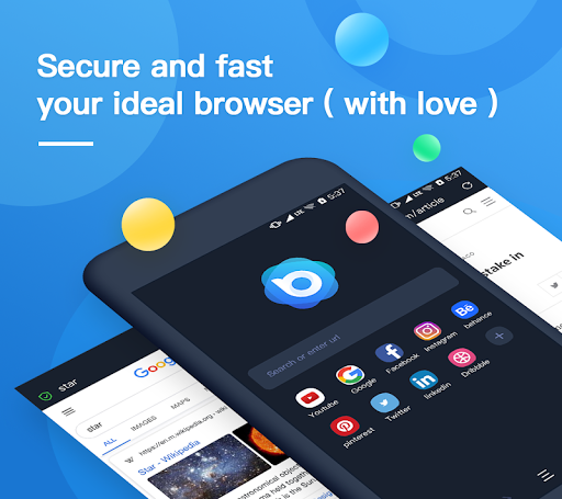 Nox Browser - Fast & Safe Web Browser, Privacy 2.1.1 screenshots n 1