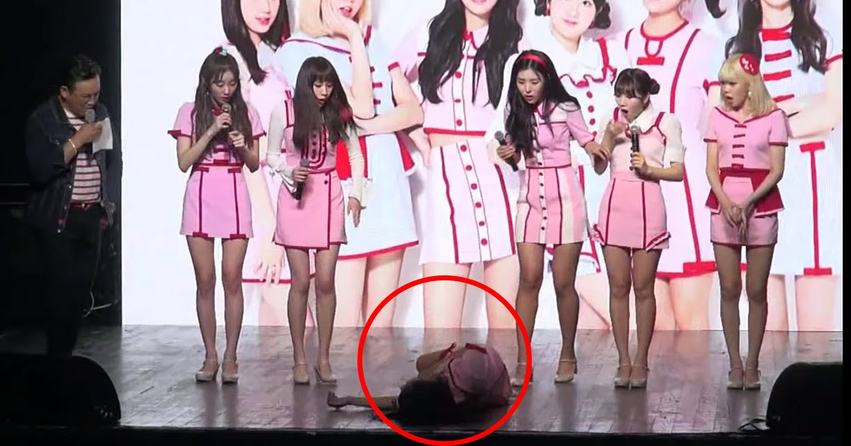 Rookie Idol Faints On Stage During Comeback Showcase