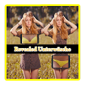 CAM revealed underwear Prank icon