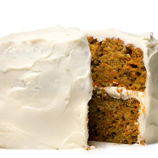 Cardamom-Spiced Carrot Cake with Whipped Cream-Cheese Frosting