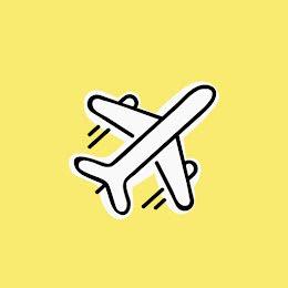 Airplane Icon - Instagram Highlight item
