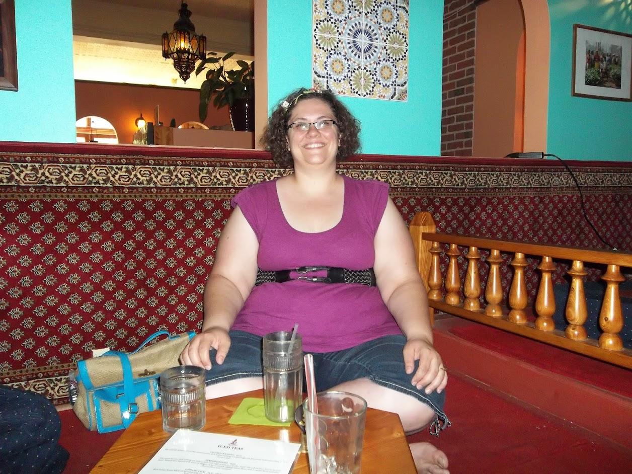 Jessie at Dobrá Tea