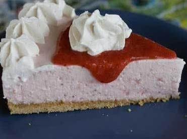 Loaf Pan Strawberry Cheese Cake Recipe
