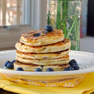 Blueberry Pancakes With Fresh Blueberries Recipes.