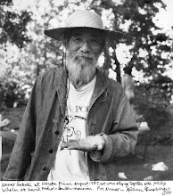 Photo: 1985 at Naropa Picnic(by Allen Ginsberg)