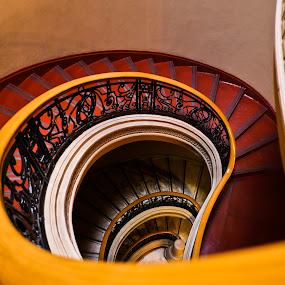 Spiral staircase by Wilfredo Garrido - Buildings & Architecture Architectural Detail ( spiral staircase, staircase, buildings, architecture )