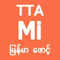TTA MI Myanmar Font 7.5 to 9.2 icon
