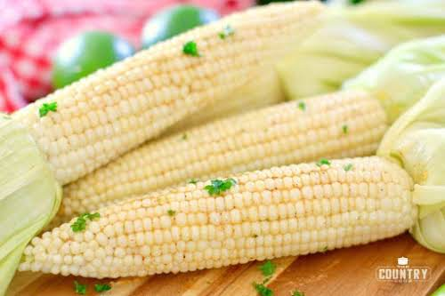 "Grilled Chili Lime Corn ""This grilled chili lime corn couldn't be easier..."