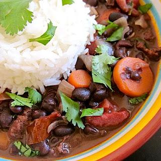 Cuban Chorizo Stew.