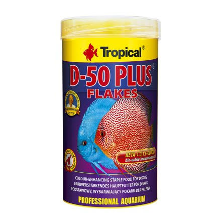 Tropical Discus D50 Plus 250ml/50g