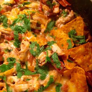 Rotisserie Chicken Chilaquiles.