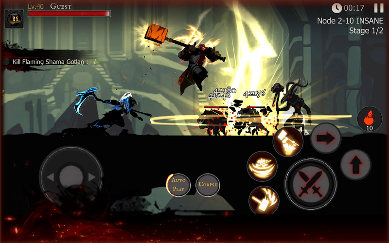 Shadow of Death: Dark Knight - Stickman Fighting Screenshot 4