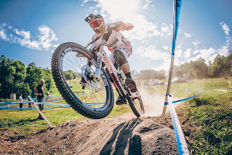 Photo: The Syndicate team never has a dull a moment and this year has been no exception with the turning of Peaty to 40 years old and Ratboy doing so well in the races. Steve Peat is like a proud Dad. He chats about how his season is shaping up for him and the team.