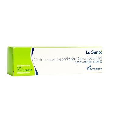 Clotrimazol + Neomicina + Dexametasona Elter Crema