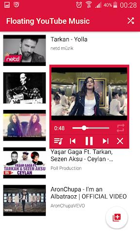 Floating YouTube Music Player 1.0 screenshots 3