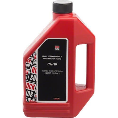 RockShox Suspension Oil, 0W-30, 1 Liter Bottle (Pike Lowers)