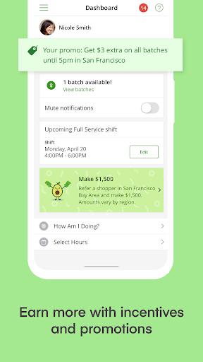 Instacart Shopper: Earn Money  screenshots 4