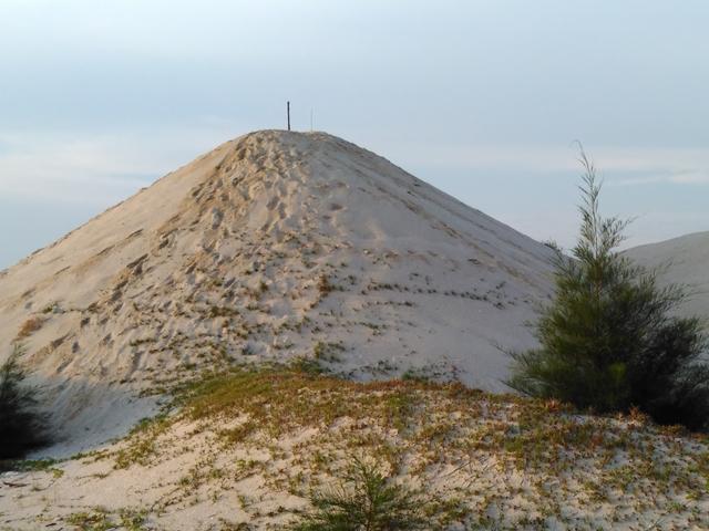 bukit berpasir dune pantai klebang