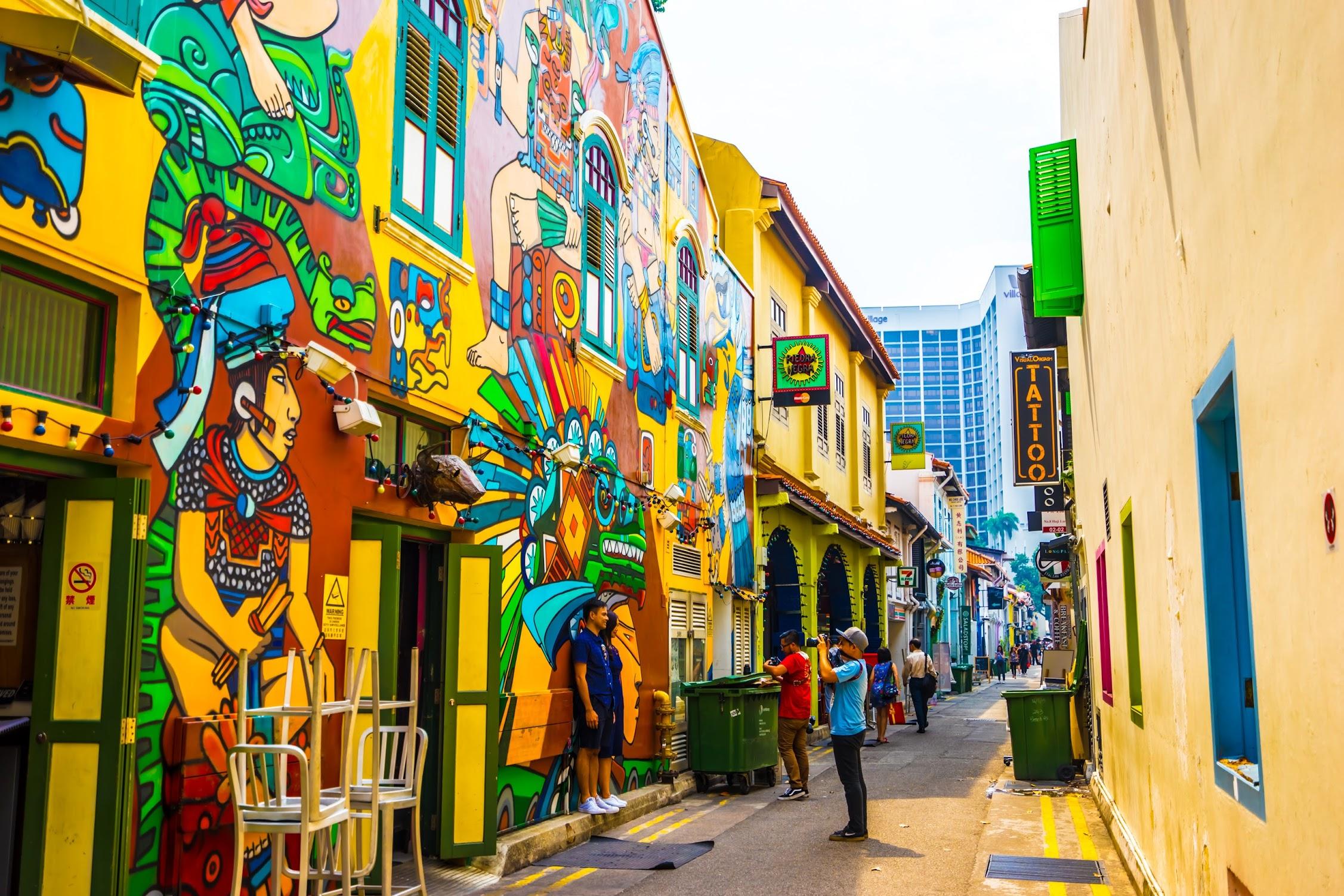 シンガポール アラブ・ストリート ハジ・レーン3