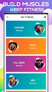 My Fitness – Home Workout App (No Equipment) Full Body Fitness 2