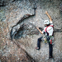 Fotos de escalada deportiva en Axkin Arrondo (Navarra / Nafarroa).