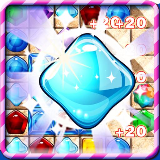 보석 폭발 매치 3 休閒 App LOGO-APP試玩