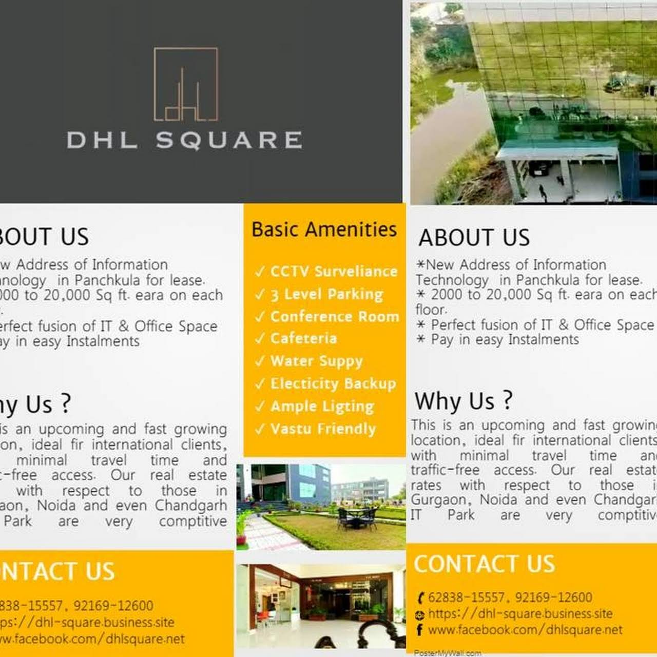 DHL Square - Office Space for Lease in Panchkula