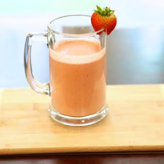 Vegan Milkshake Recipe - Strawberry