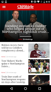 Northampton Chronicle and Echo- screenshot thumbnail