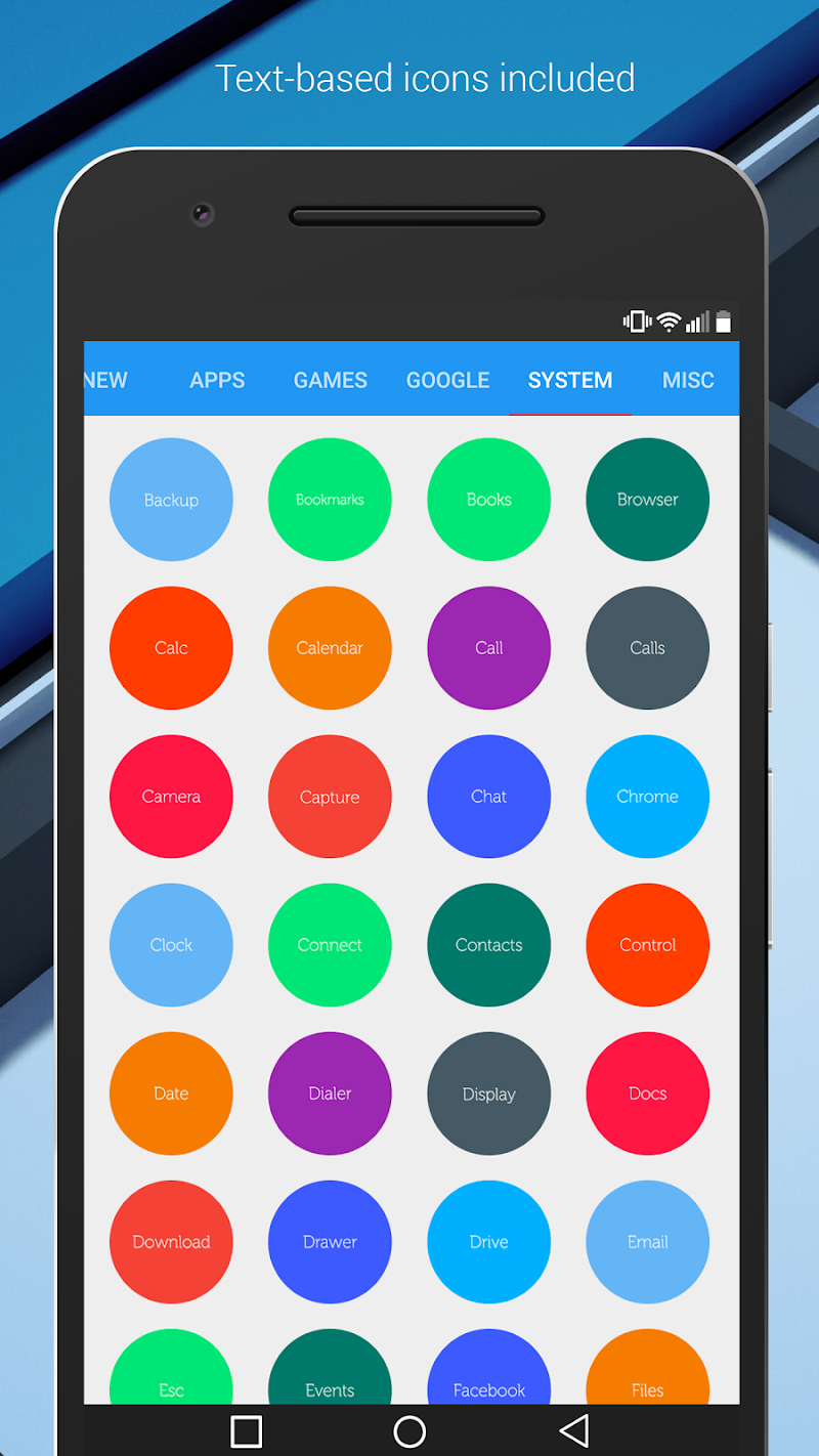 Material Things - Colorful Icon Pack (Pro Version) Screenshot 7