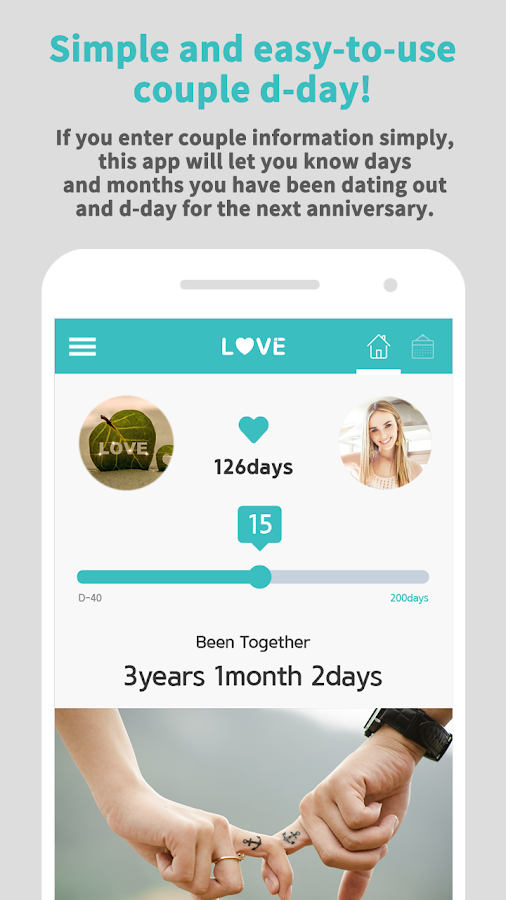 Love D-Day Widget- screenshot