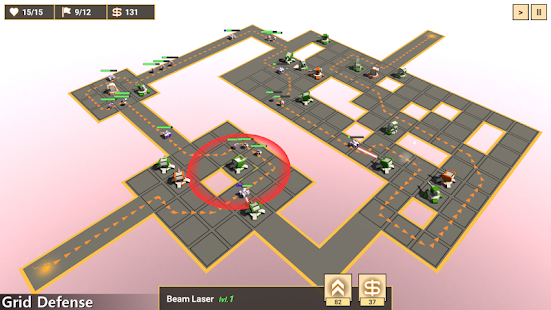 Grid Defense Screenshot