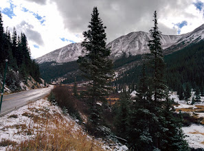 Photo: Heading up Independence Pass