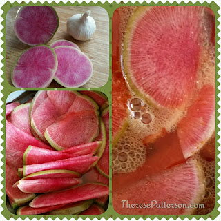 Pickled Watermelon Radishes